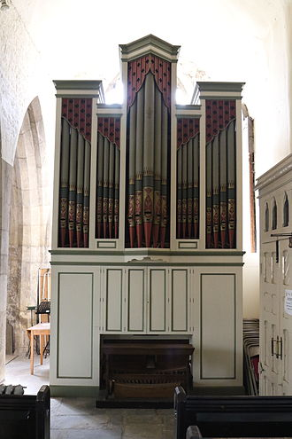 All Saints' Church, North Street, York - The organ by Forster and Andrews