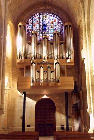 Organ of Poblet - The Metzler organ of the Abbey of Poblet (Catalonia, 2012)