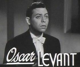 affiche Oscar Levant