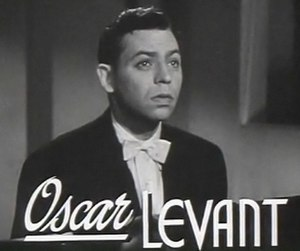 Oscar Levant - from the trailer for  Rhapsody in Blue (1945)