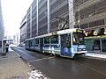 Oslo tram line 11 on Fred Olsens gate.jpg