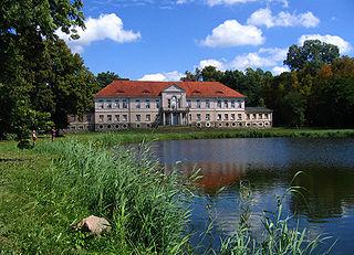 Owińska Village in Greater Poland, Poland