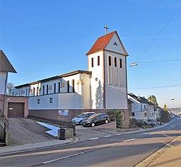 Riegelsberger Straße in Püttlingen