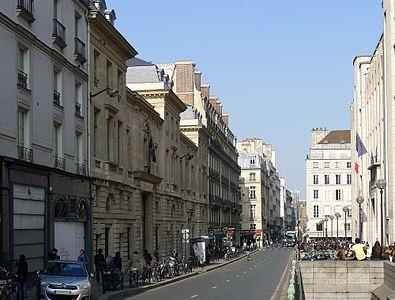 Rue des saints p res wikimonde for 9 rue de la chaise sciences po