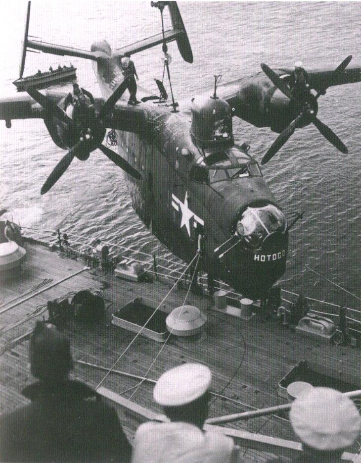 PBM Mariner USS Curtiss (AV-4)