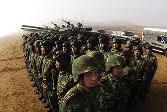 People's Liberation Army Ground Force - PLAGF Armored Training Unit