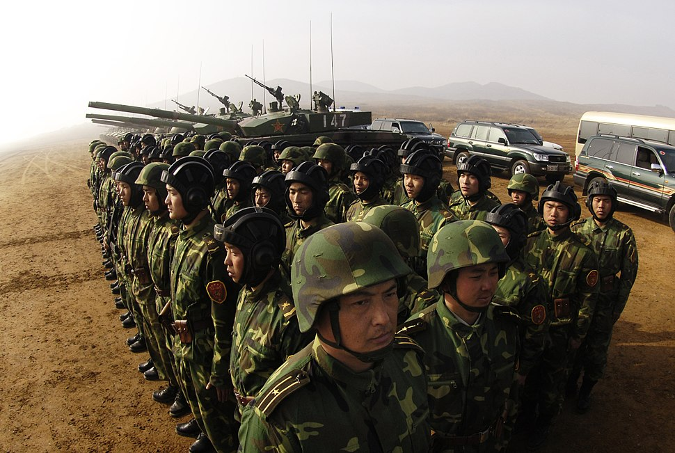 PLA Soldiers Shenyang