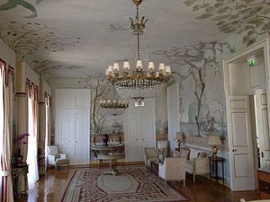 Seteais Palace - One of the rooms on the ground floor