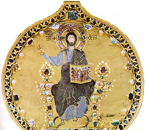 Pala d'Oro - The central panel of Christ in Majesty