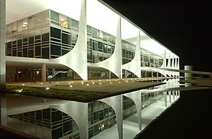 Palace - The Planalto Palace, in Brasília, Brazil