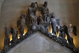 Palace of Tau - Image: Palais du Tau Statues originales 17062011 02