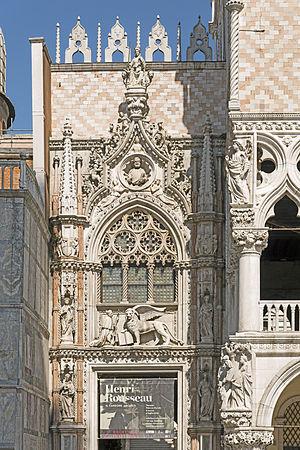 Bartolomeo Bon - Image: Palazzo Ducale (Venice) Porta della carta