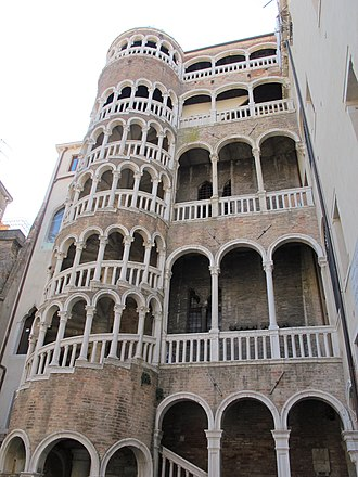 Contarini - The Palazzo Contarini del Bovolo, built for the Contarini family in the 15th century.