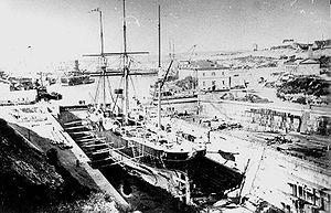 Sevastopol Shipyard - Image: Pamyat'Merkuriya 1879 1920