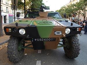 Panhard VBL (Vèhicule Blindé Legér), French army licence registration '6924 0051' pic5.JPG