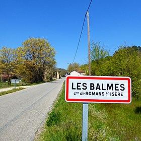 Les Balmes (hameau de Romans-sur-Isère)