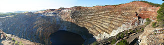 Rio Tinto (corporation) - The open-pit Corta Atalaya mine was part of Rio Tinto's original operations in Spain.