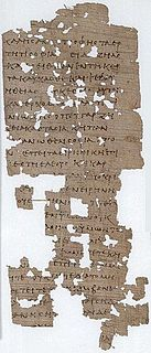 Papyrus 100 manuscript