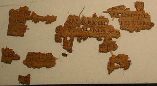 Papyrus 21 manuscript
