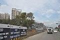 Parama-Park Circus Flyover Under Construction - EM Bypass - Kolkata 2010-09-15 7576.JPG