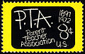 Parent Teacher Association (PTA) 8c 1972 issue U.S. stamp.jpg
