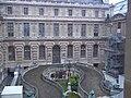 Paris 75001 Cour Lefuel Louvre horseshoe stairs 20110122 161143.jpg