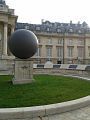Paris 75007 Palais Bourbon Cour d'honneur Sphere of Human Rights by De Maria.jpg
