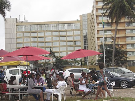 People in Libreville Park In Gabon.JPG