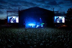 Music festival - Parkenfestivalen 2012, The Prodigy