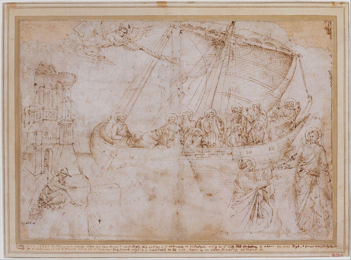 Disegno Della Navicella Di Giotto Wikipedia