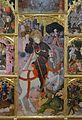 Part central del retaule de sant Jordi, Xèrica.JPG