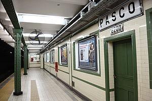 Pasco (Buenos Aires Underground) - Image: Pasco GCBA(3)