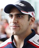 16. Pastor Maldonado (Williams)