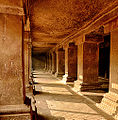 Pataleshwar Caves Internal Temple Corridors 2.jpg