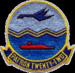 Patrol Squadron 22 (US Navy) insignia 1964.png