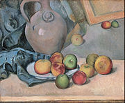 Paul Cézanne - Stoneware Pitcher - Google Art Project.jpg