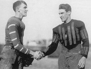 Paul G. Goebel - Goebel (left) and Jess Neely in 1922