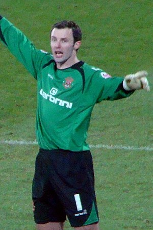 Paul Rachubka - Rachubka playing for Blackpool