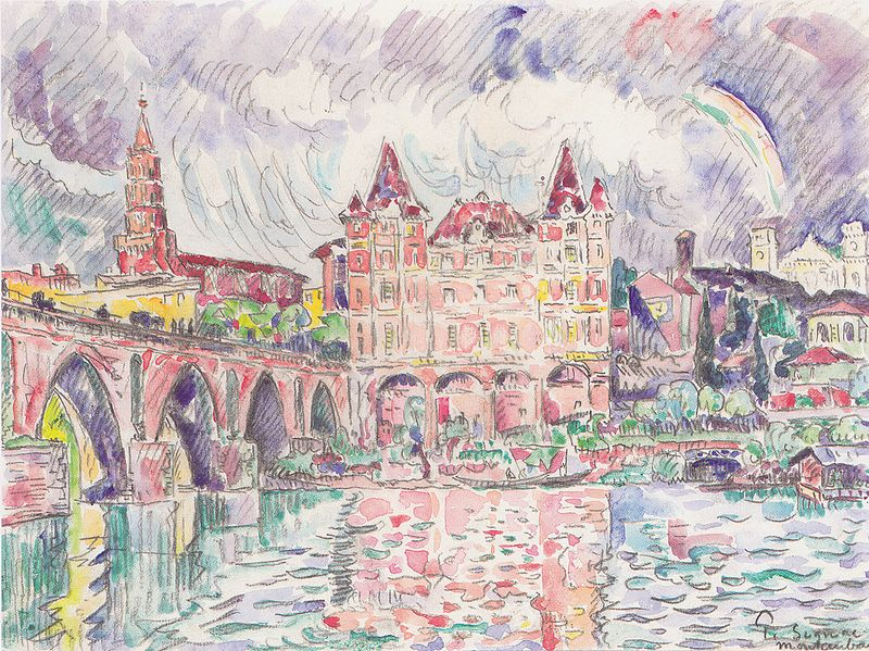 File:Paul Signac - Blick auf Montauban bei Regen.jpeg