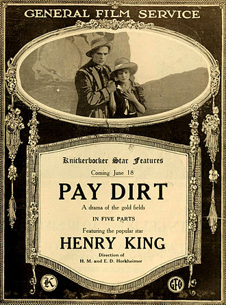 Pay Dirt - Advertising for Pay Dirt on the Moving Picture World (June 1916)