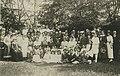 Pečky - evangelický kostel, účastníci svěcení kostela, 1918 (Archiv ČCE).jpg