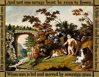 Reynolda House Museum of American Art - Image: Peaceable Kingdom of the Branch Edward Hicks