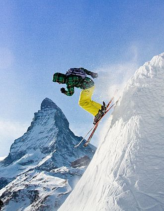 Sport in Switzerland - Skiing in Zermatt. Switzerland is the first country where winter sports were developed on a large scale