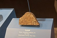 Peekskill meteorite in Museum of Natural History.jpg
