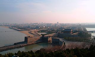 Penglai District District in Shandong, Peoples Republic of China