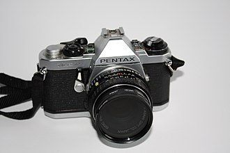 Pentax ME F - ME F with standard lens