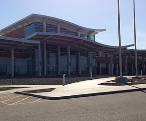 General Wayne A. Downing Peoria International Airport - Image: Peoria Airport Terminal