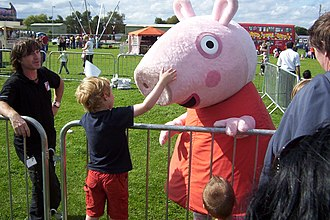 Peppa Pig - Peppa Pig at a personal appearance in the UK