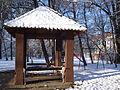 Perivoj Zrinskih, Čakovec - sjenica zimi.jpg