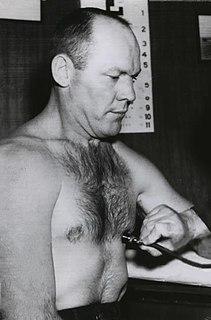 Pete Rademacher American boxer